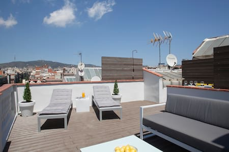 New center Penthouse with terrace