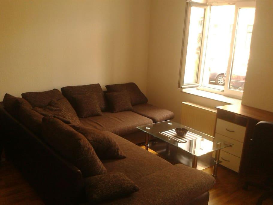 Helles Wohnzimmer, living room