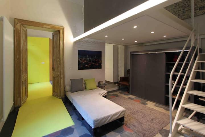 Piccolo loft nel centro di Torino