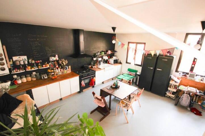 Apartement-loft with terrace - Vitry-sur-Seine - Loft