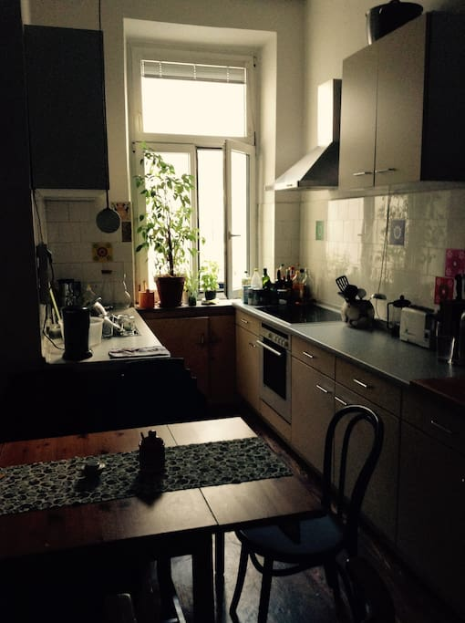 Kitchen with all household supplies