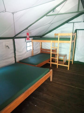 New camp mattresses