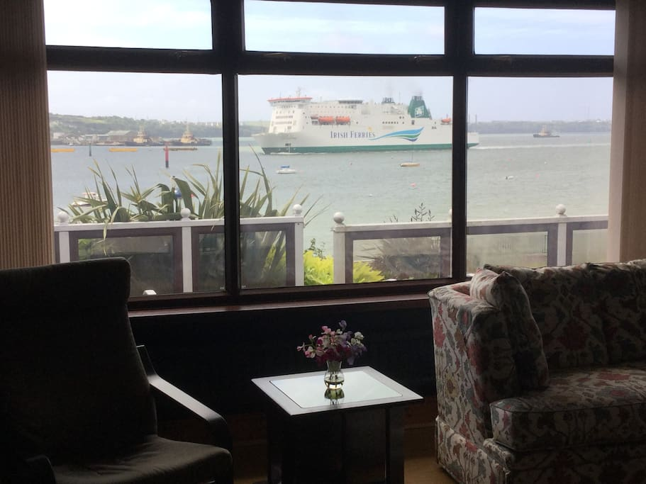 View from guests lounge