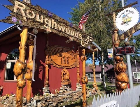 Roughwoods Inn and Cafe.