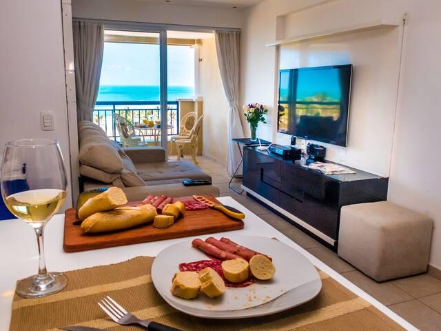 Lindo apartamento de 2 quartos na Praia do Futuro - Fortaleza - Wohnung