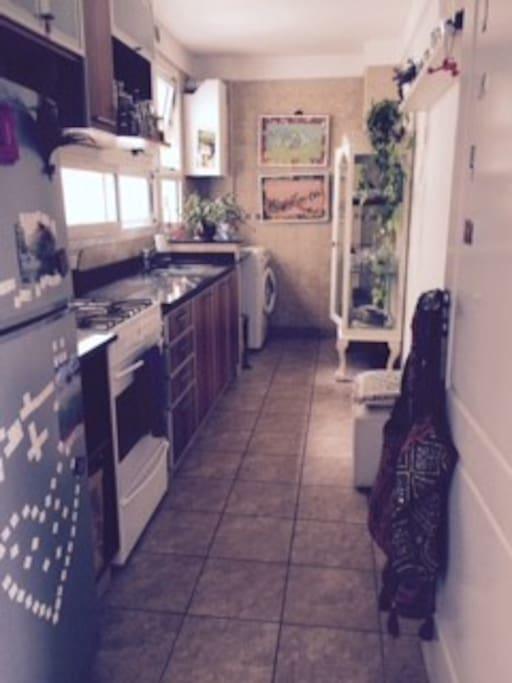Cocina y Laundry