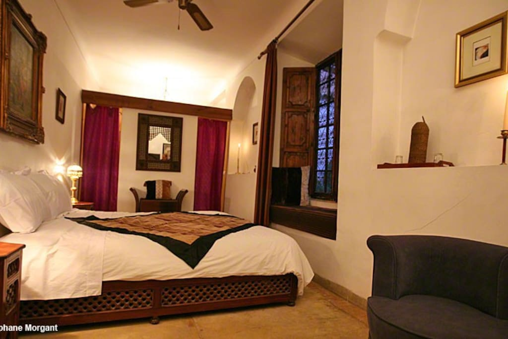Chambre safran riad darmouassine chambres d 39 h tes for Chambre d hote marrakech