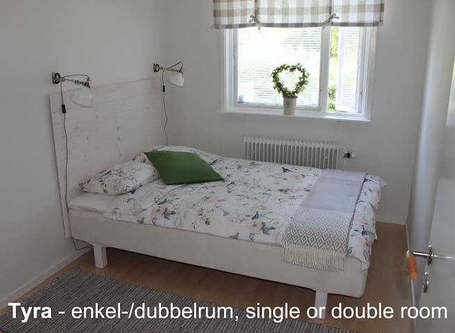 Tant Grön BnB - Tyra single/double - Falun - Bed & Breakfast