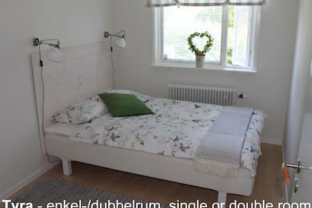Tant Grön BnB - Tyra single/double - Bed & Breakfast