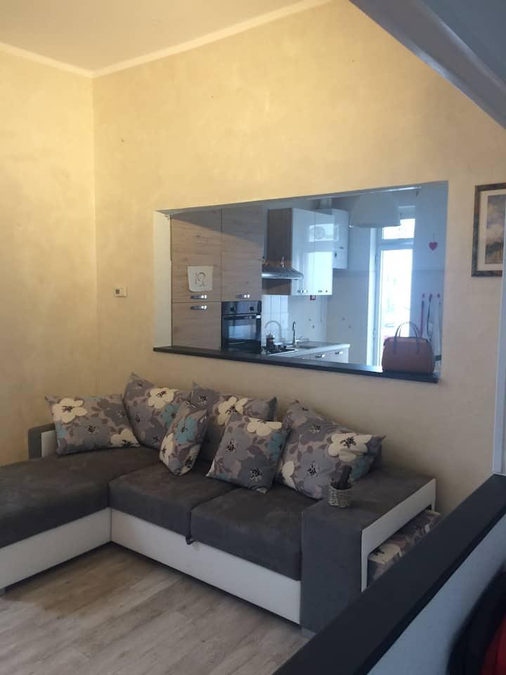 Appartamento luminoso nel cuore dei Portici
