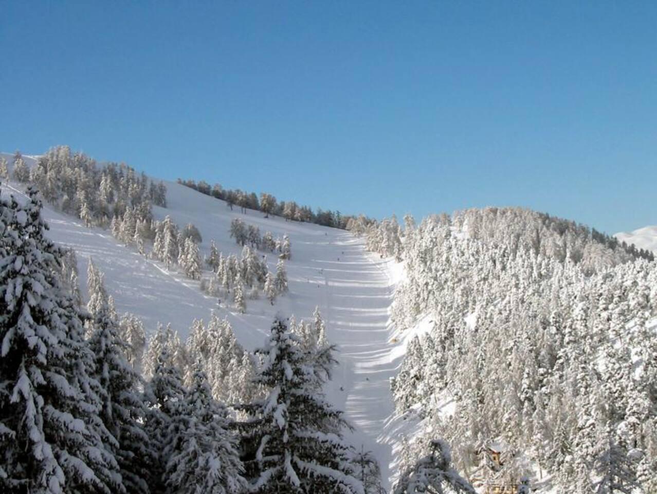 Station de ski à 10 minutes