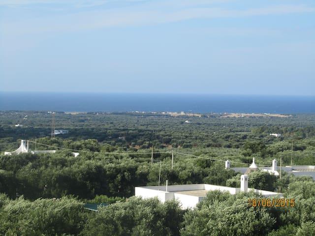 sea view villa in Ostuni - ออสตูนี่ - วิลล่า