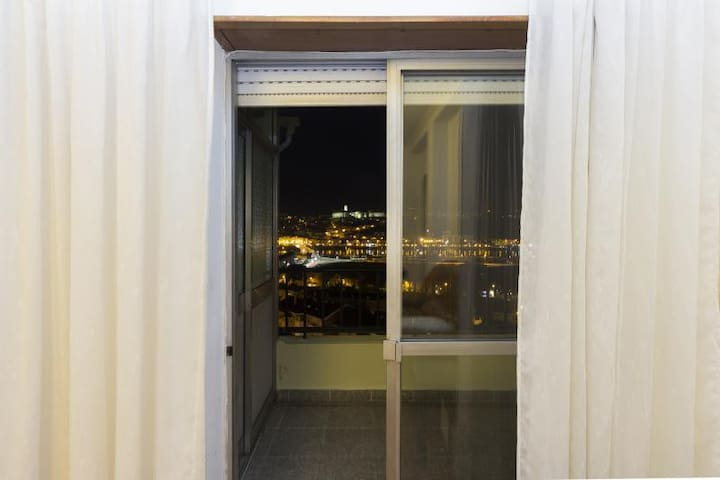 Rooftop Apartment with huge balcony - Coimbra - Flat