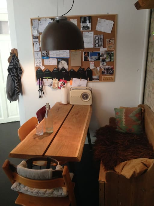 Kitchen with diningplace