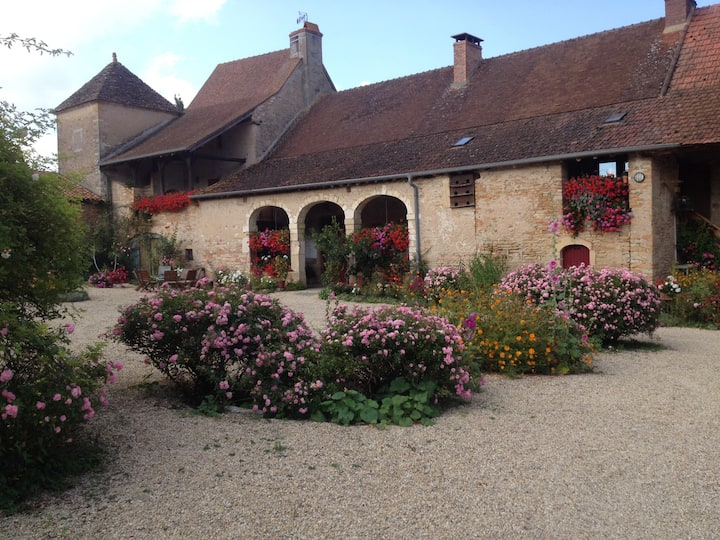 Chambre d'hôtes à la ferme - Rose