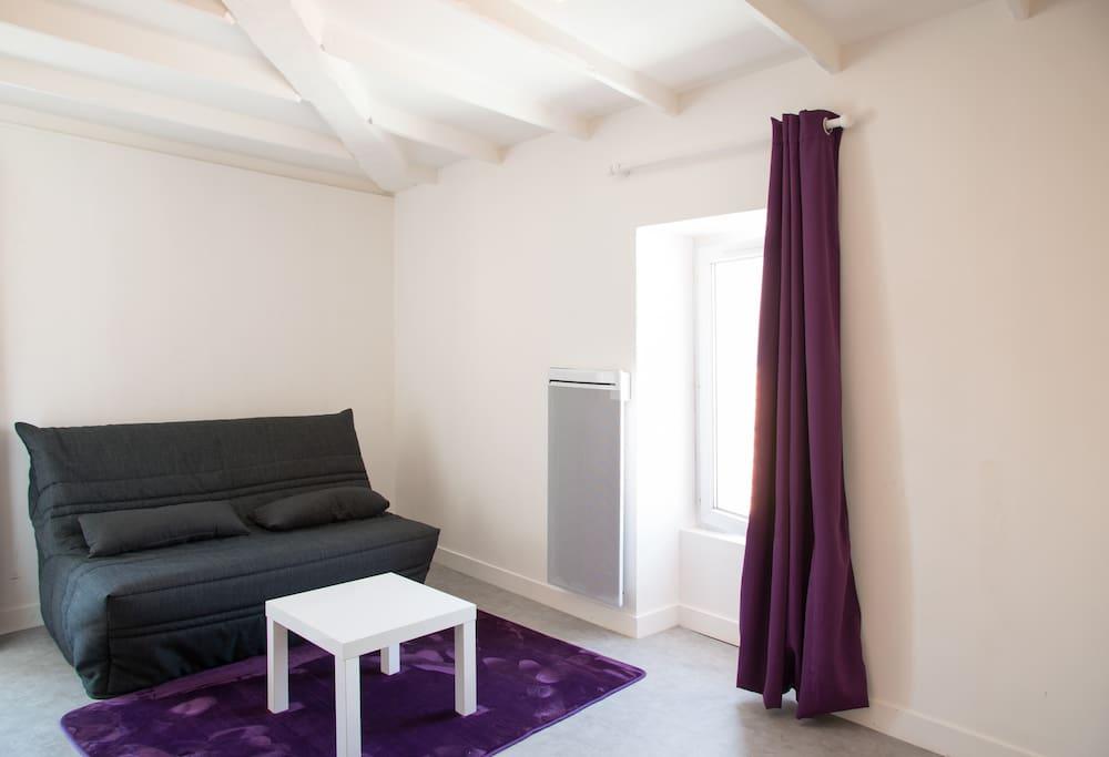 studio 20 m2 equipe quai la chaume appartements louer les sables d 39 olonne pays de la. Black Bedroom Furniture Sets. Home Design Ideas