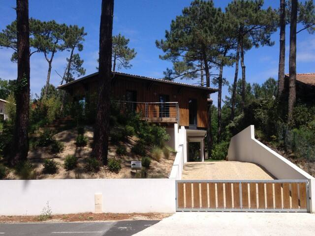 villa d'architecte 4 chambres piscine plage - La Teste-de-Buch - Villa