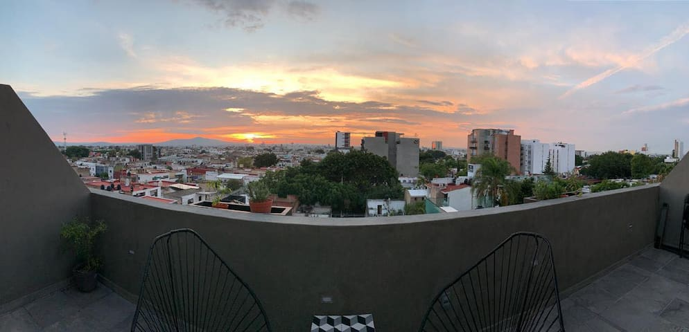 Penthouse completo, en zona Chapultepec.