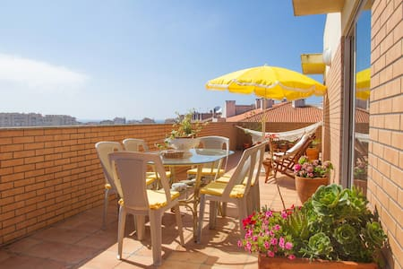 Rooftop T3 Duplex Apartment in Furadouro Beach