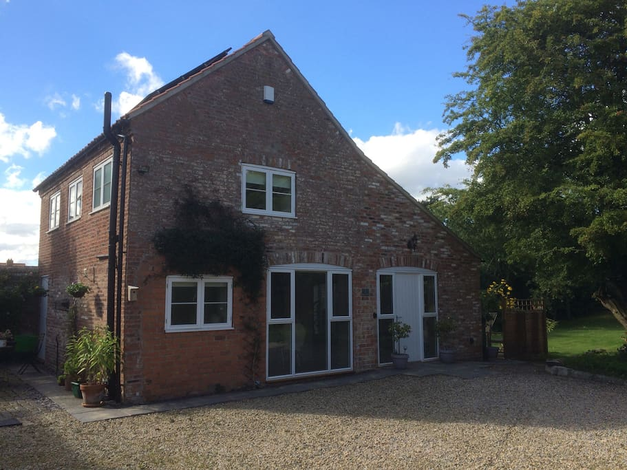 Recently converted 200 year old coach house/barn.