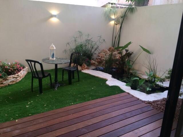 3 Bedroom Garden - 特拉維夫-雅法 - 公寓