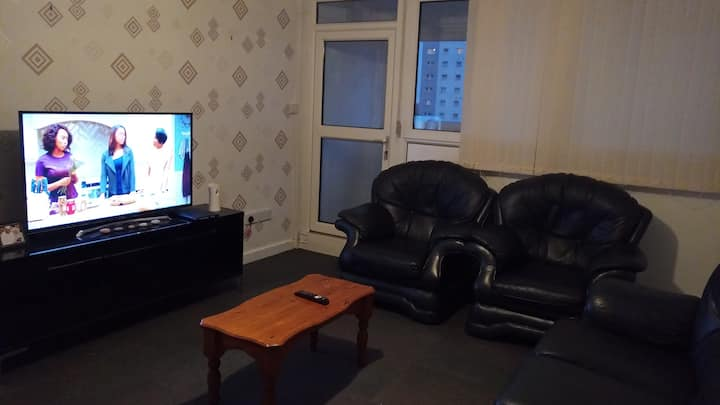 Comfy double room in the heart of Glasgow