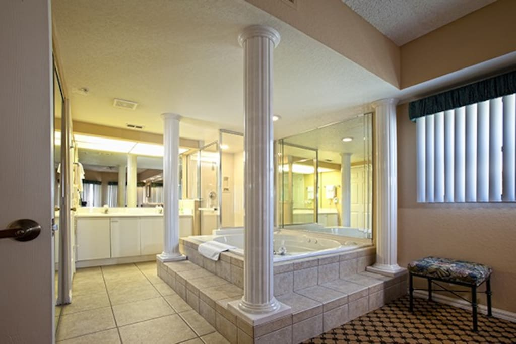 Master Bath with jacuzzi & separate shower