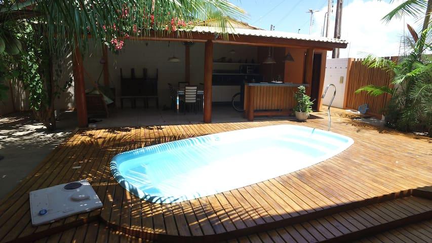 Ótima casa com piscina no Pontal de Coruripe - Coruripe - Talo