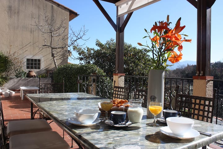 Ceret - Charming House with A/C,  Pool & Terrace