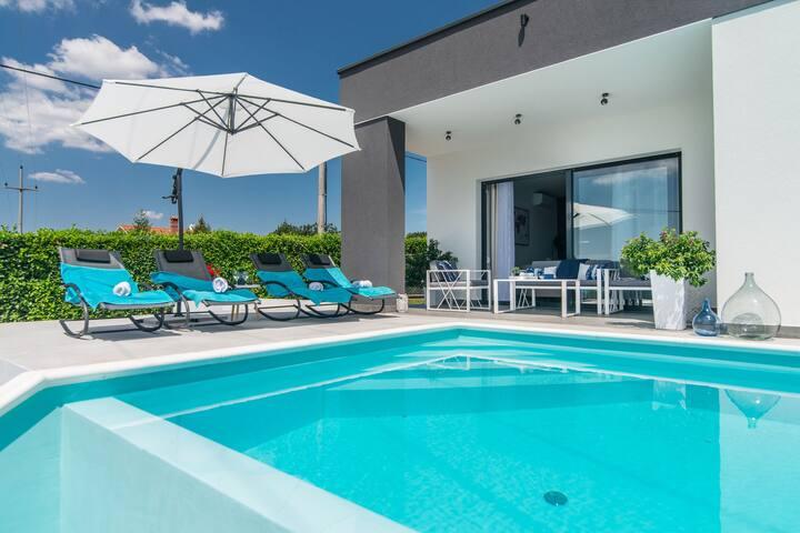 Hermosa villa con piscina privada en Istria Croacia