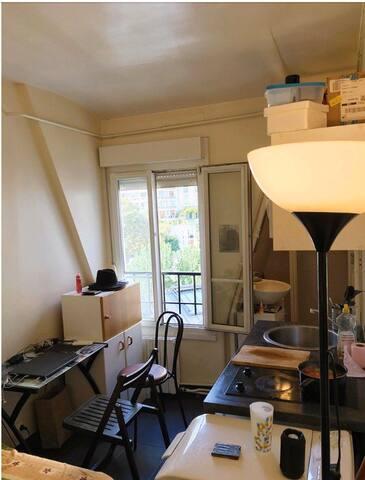 Studio à 800 m de la Tour Eiffel