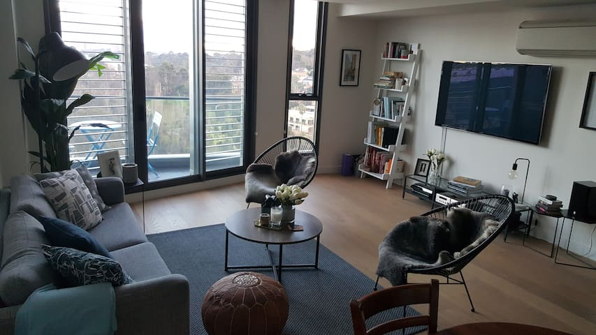 Designer 1BR apartment - great views & facilities - Abbotsford - Appartement