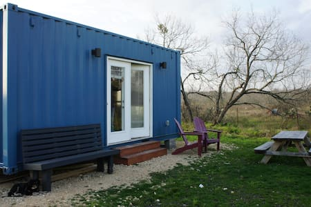 "Tiny Home / Container Home - ""Baby Blue"""