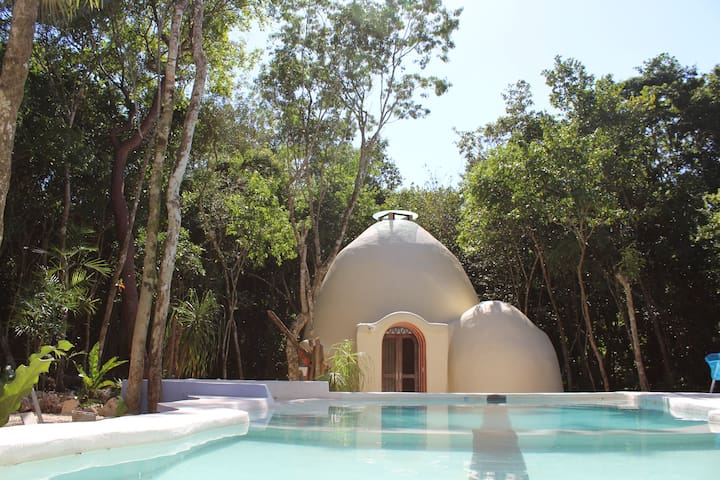 Organic Dome @ Villa Duendes - Byt