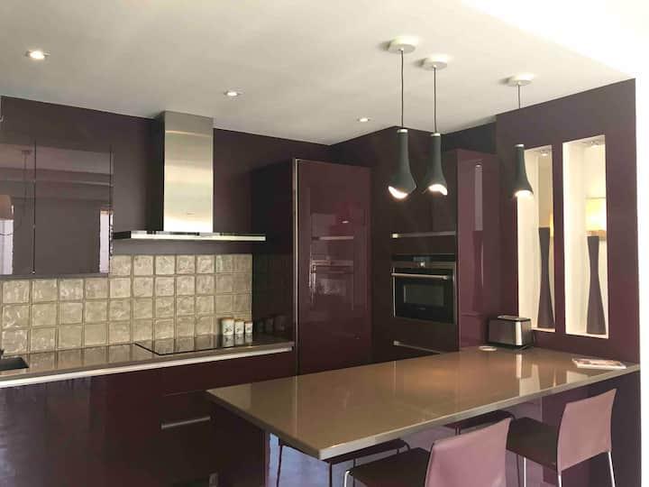 Appartement calme familial 3 ch avec terrasses