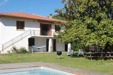Maison 4* pour grande tribu avec piscine chauffée - Pontenx-les-Forges