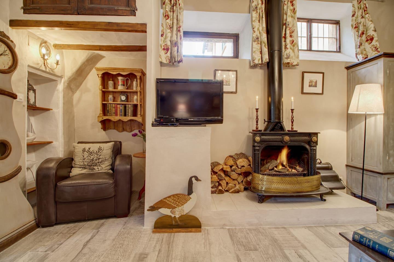 Wood burner for the cooler months