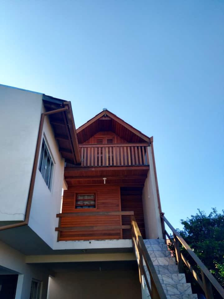 Casa para 2 pessoas com acesso a praia