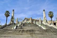 Charmant et Cosy T3 au pieds de la Gare Saint Charles , entrée d'autoroute  A7, transports en commun en plein cœur du centre ville de Marseille , à seulement 5 mn du vieux port et 2 mn de la  célèbre Canebière . Point stratégique pour profiter en toute liberté du charme de notre belle ville !