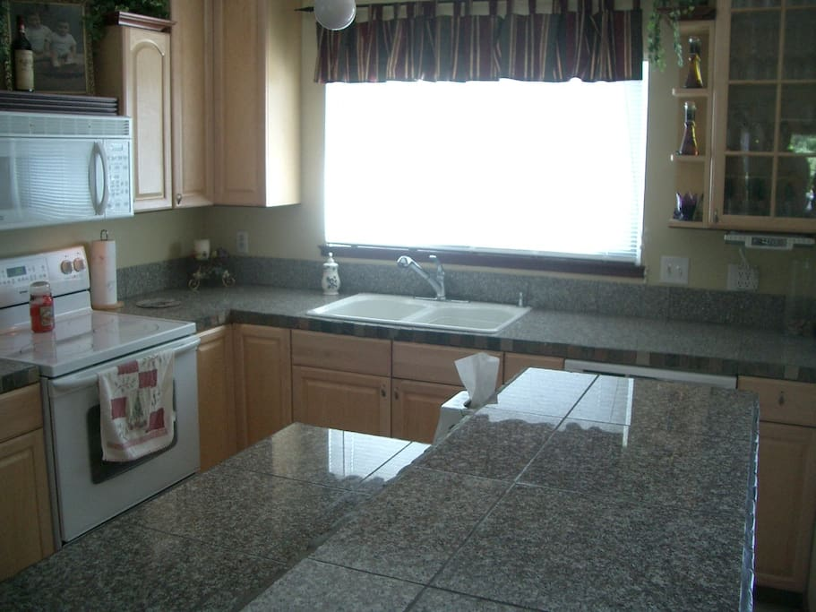 Close up of Kitchen