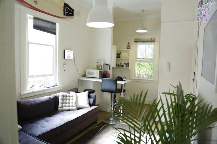 Amazing place + garden ,1min beach - Bondi Beach - Appartement