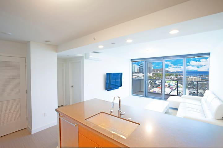 New kakaako luxury condominium.