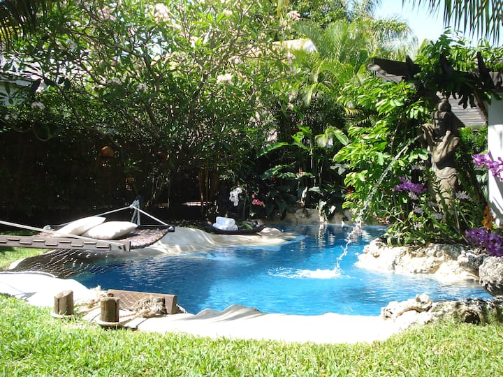 Oasis Pool Home in the heart of Miami.