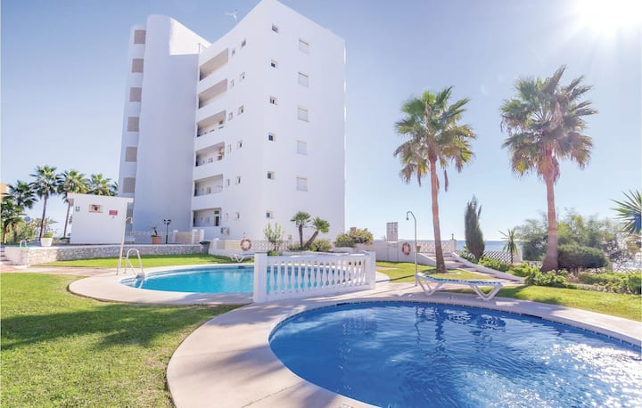Holiday apartment with 2 bedrooms on 60m² in Calahonda
