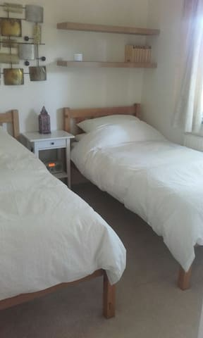twin room rural 15 min from basingstoke. - Tadley