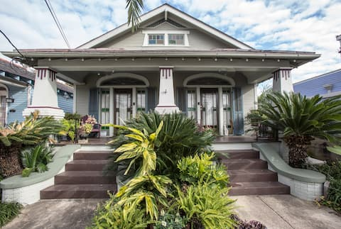 Arts and Craft Cottage in Marigny