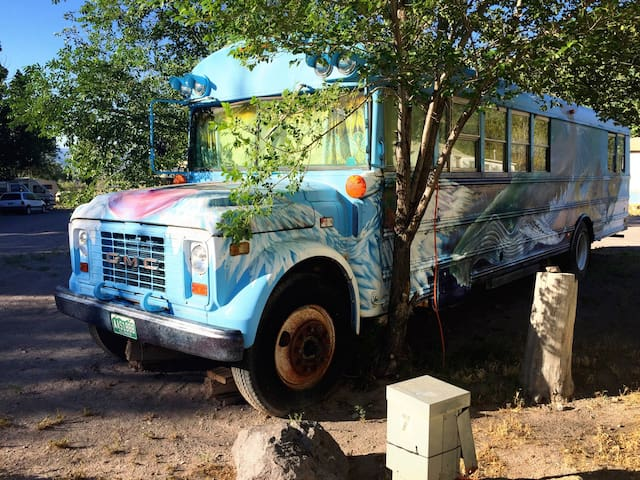 Nature Bus at Mystic Hot Springs