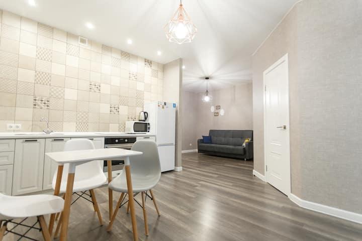 Квартира RentHouse с дизайнерским ремонтом