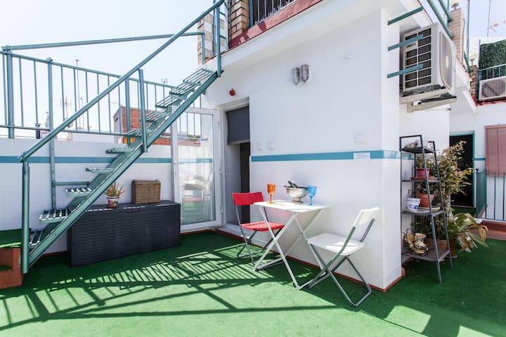Estudio con terraza Eb - Sevilla - House