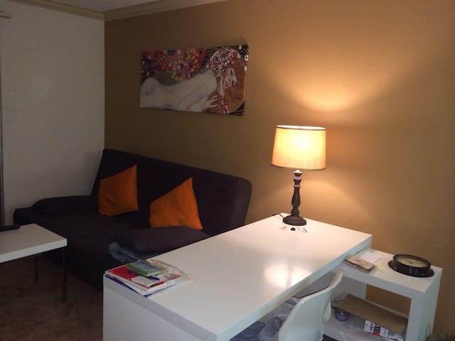 Furnished living room in Burbank